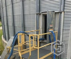 Grain Bin Floor Repair in MD