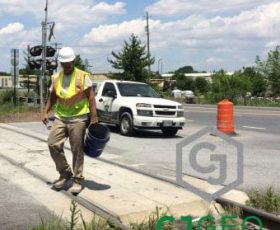 Industrial Driveway Crossing Repair
