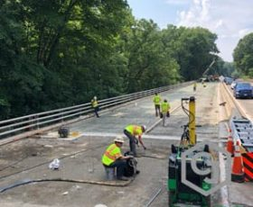 Bridge Approach Polymer Grouting