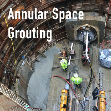 Annular Space Grouting