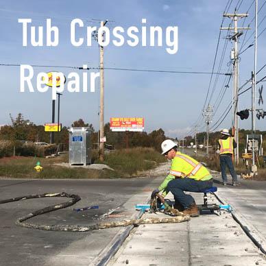 Modular Crossing Repair